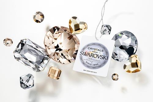 Swarovski Crystals and Seal of Guarantee