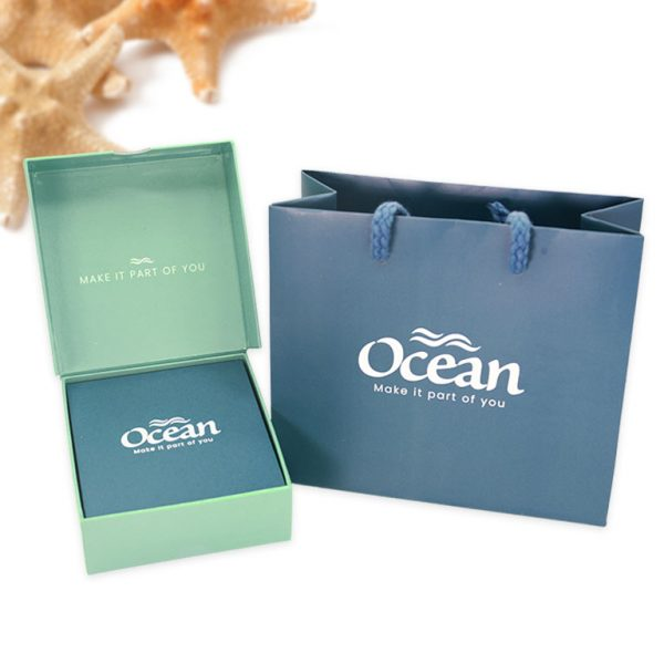 Ocean Jewelry Box Closed