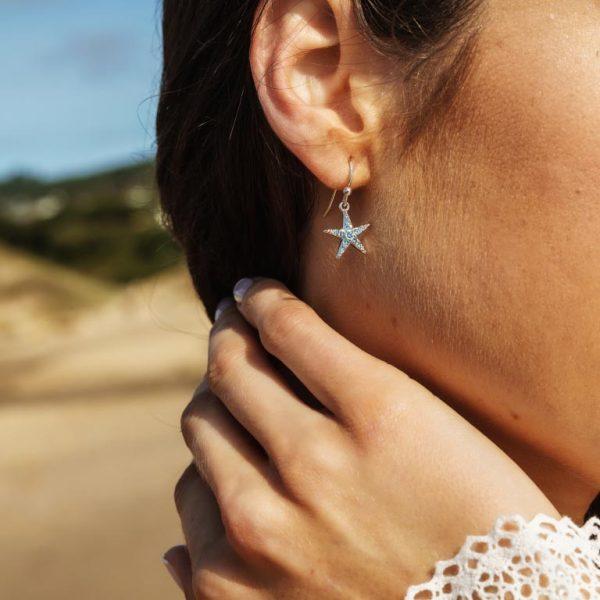 Starfish Earrings Drop