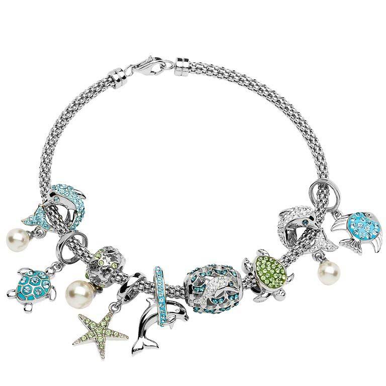 Ocean Jewelry Bracelet with Beads