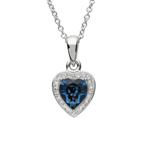 Heart of the Ocean Necklace Swarovski® Crystals