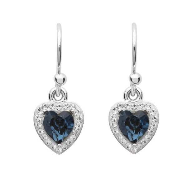 Heart of the Ocean Earrings Swarovski® Crystals