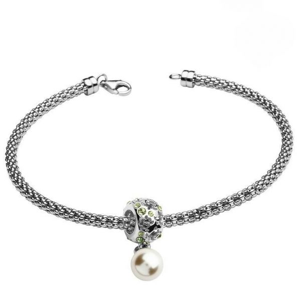 Sea Turtle Charm Bracelet With Swarovski® Crystals