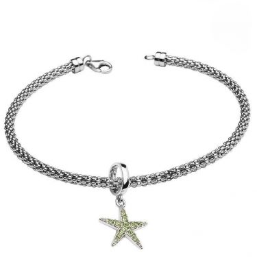 Starfish Bracelet With Swarovski® Crystals
