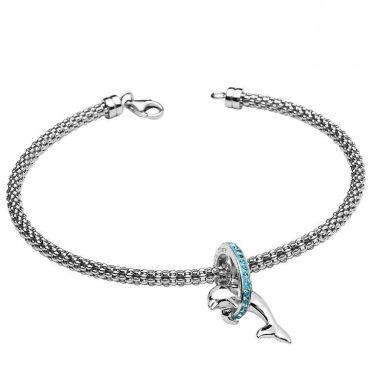 Dolphin Bracelet With Swarovski® Crystals
