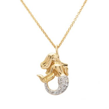 Gold Mermaid Necklace