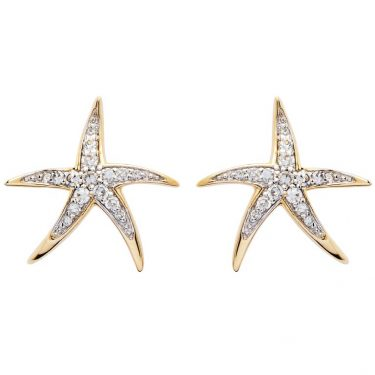 Gold Starfish Jewelry