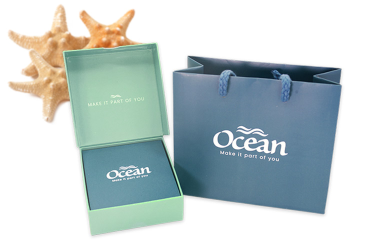 Ocean Jewelry Premium Packaging
