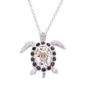 April Turtle Birthstone Pendant