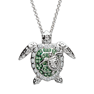 Green-Turtle-necklace