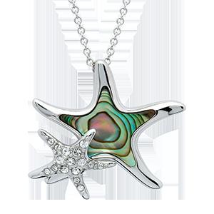 Starfish Abalone Necklace
