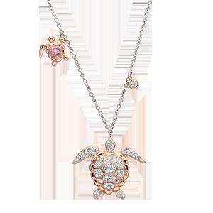 Rose Gold Stud Necklace