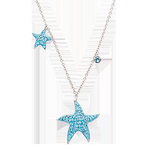 Starfish Blue Necklace