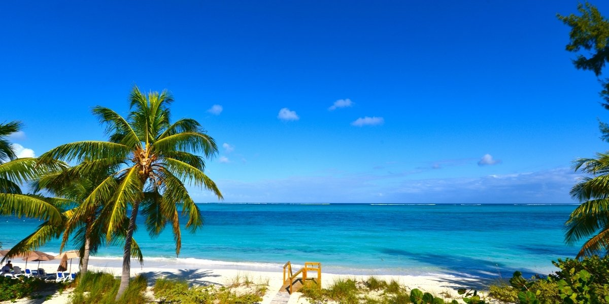 Grace Bay Beach Turks and Caicos By Ocean Jewelry Store